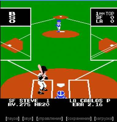 игра Bad News Baseball