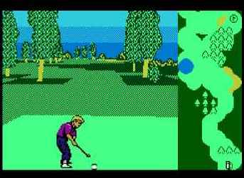Игра Денди Greg Norman's Golf Power (Мощь Гольфа Грега Нормана) онлайн