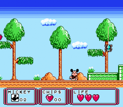 игра Mickey Mouse - Dream Balloon
