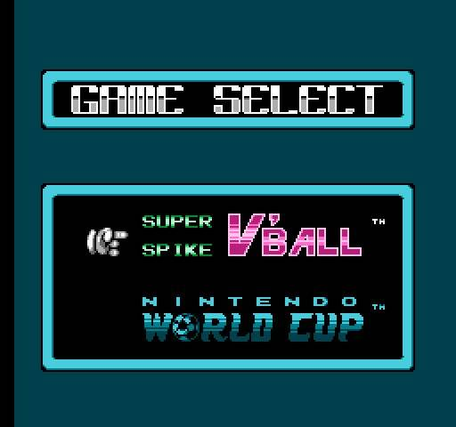 Игра Денди Super Spike V'Ball / Nintendo World Cup онлайн