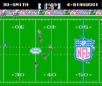 игра Tecmo Super Bowl (1990 Edit) (Hack).nes