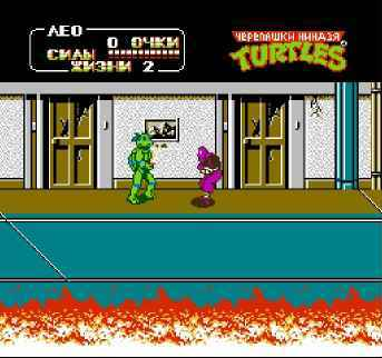 ���� ����� Teenage Mutant Ninja Turtles II: The Arcade Game (��������� ������ 2: ������) ������