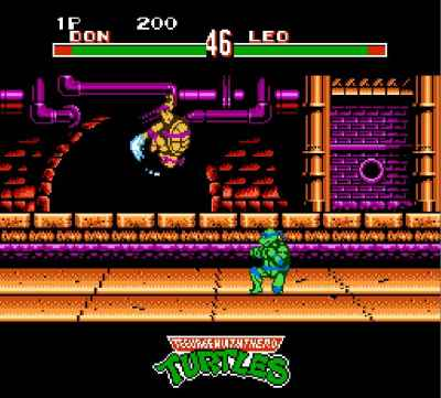 ���� ����� Teenage Mutant Ninja Turtles: Tournament Fighters (��������� ������:������ ������) ������