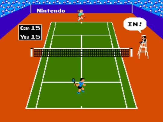 игра Tennis (U) [T+Spa100%_Tanero].nes