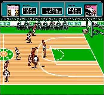игра Ultimate Basketball (U) [!].nes